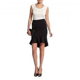 Morgan skirt JAPLON.N noir