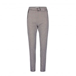 Morgan pants PONATI.F gris/rouge