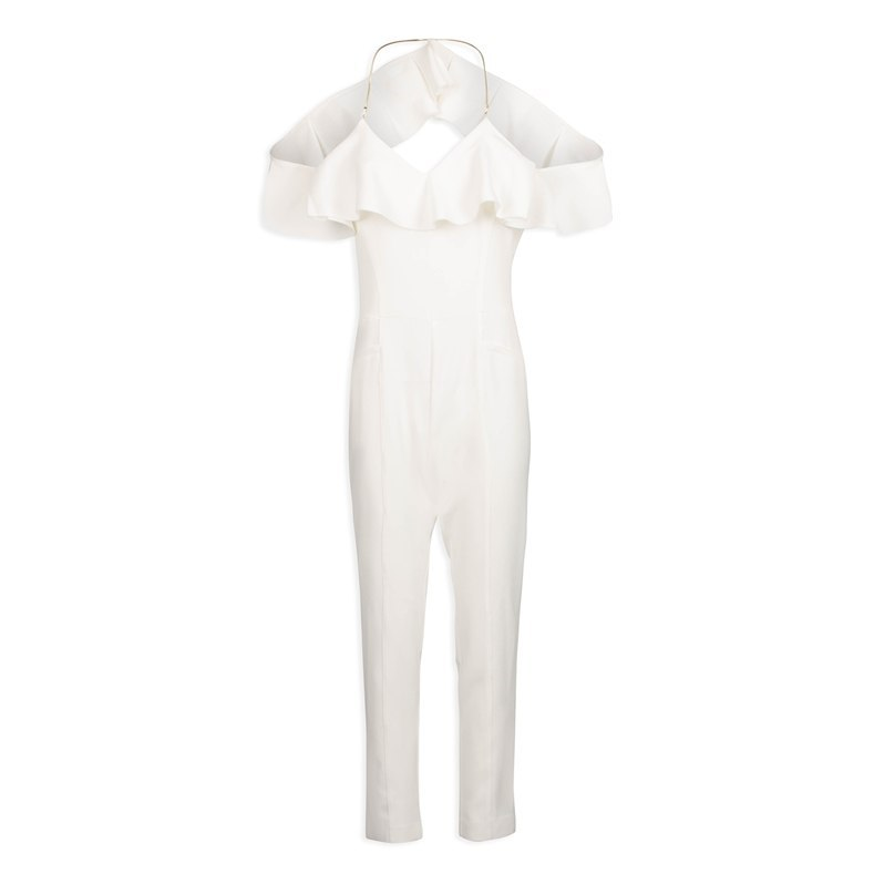 Morgan pants/jumpsuit PZOE. N OFF WHITE