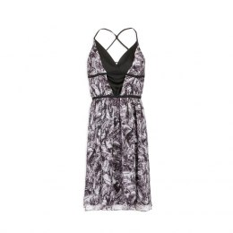 Morgan dress ROSITA.F NOIR/OF WHI