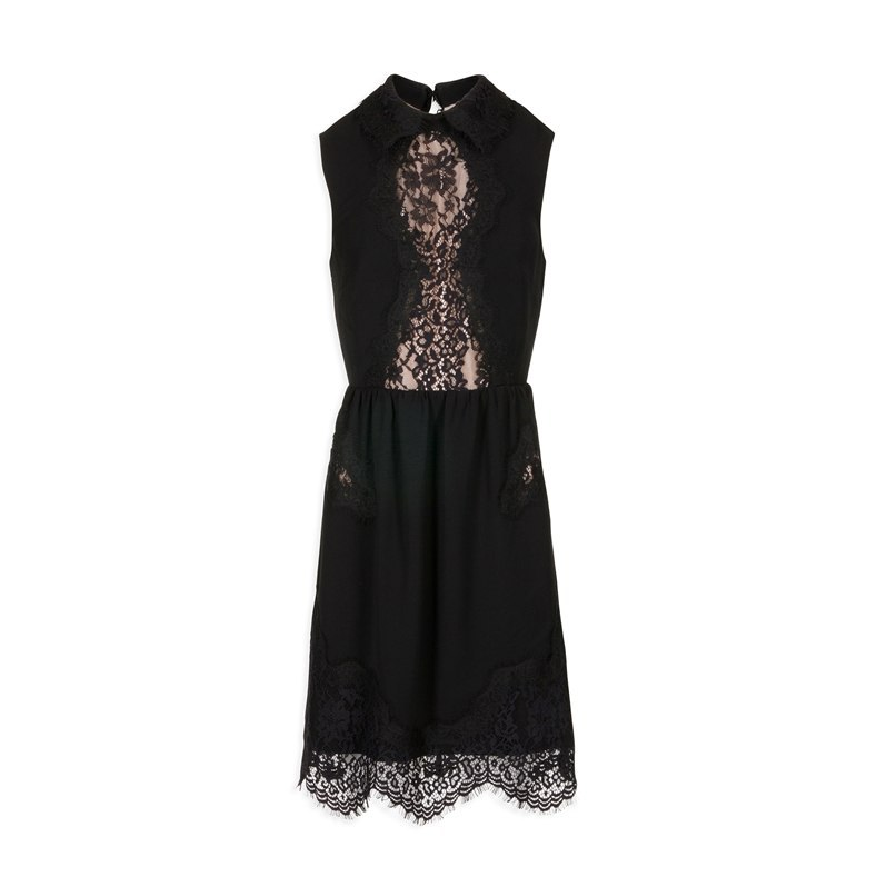 Morgan dress RSCIA.N NOIR