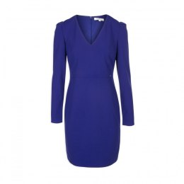 Morgan dress RABY.N ULTRA BLEU