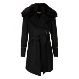 Morgan coat GFRAK.P NOIR