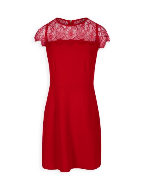 Morgan dress RLYS.W TANGO RED