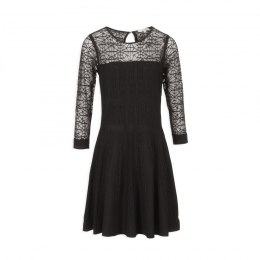 Morgan dress RMFUS.N NOIR