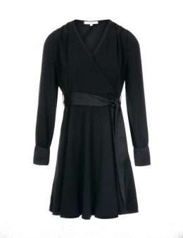 Morgan dress REVE.F NOIR