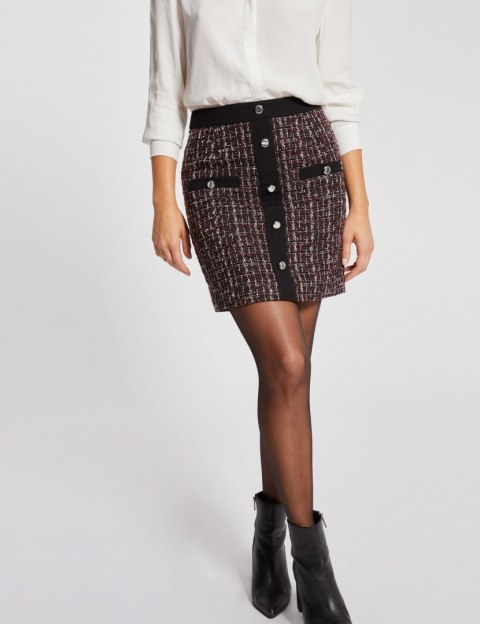 Morgan Skirt JODY.N POURPRE