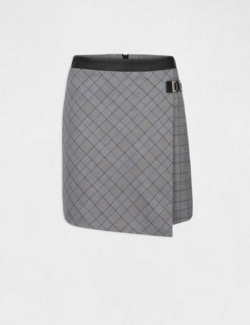 Morgan Skirt JPRINC.F GRIS CLAIR