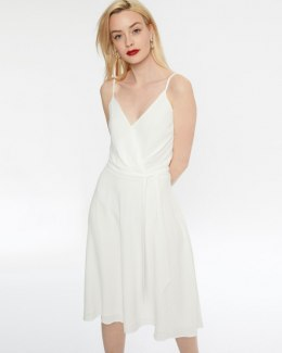 Morgan Dress RAMIA.F OFF WHITE