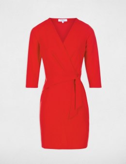 Morgan Dress RKATEL.P ROUGE