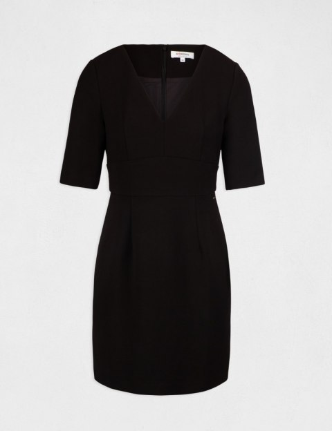 Morgan Dress RLODIE.W NOIR