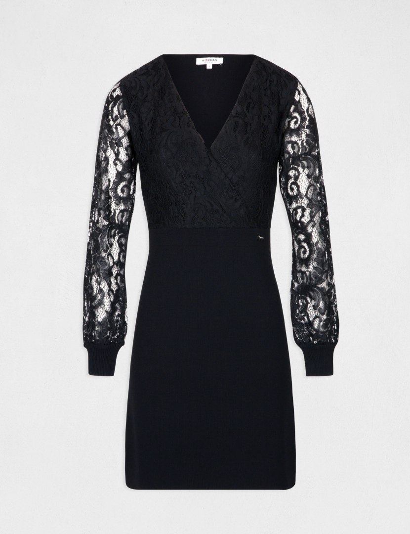 Morgan Dress RMOXI.N NOIR