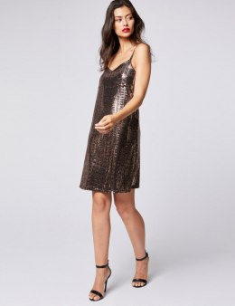 Morgan Dress RDISCO.N BRONZE
