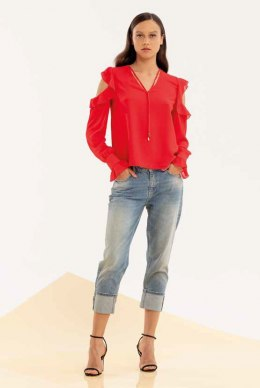 XT STUDIO Blouse 422 RED