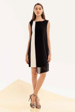 XT STUDIO Dress 521 BLACKWHITE