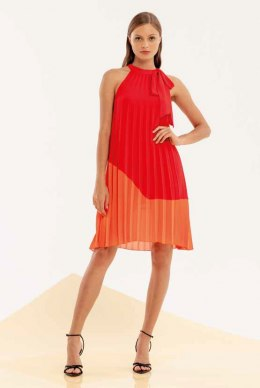 XT STUDIO Dress 522 RED/ORANGE