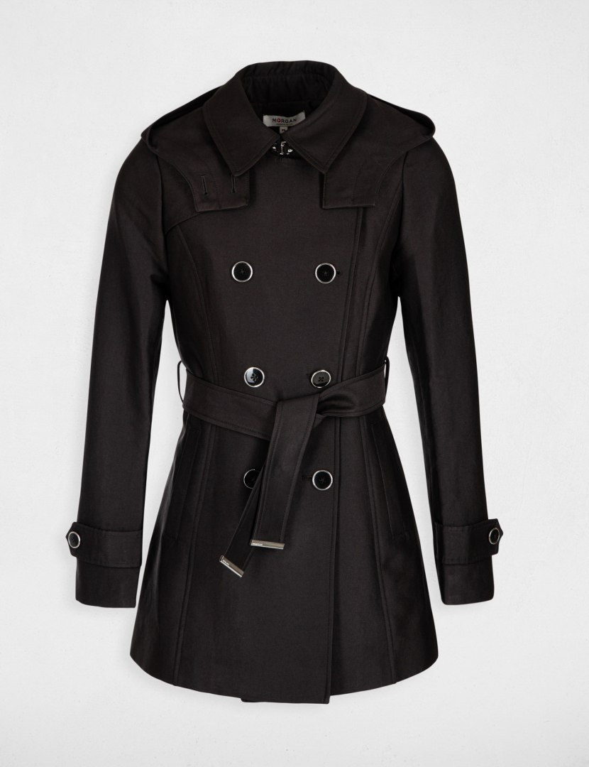 Morgan Coat GUSTAV.N NOIR