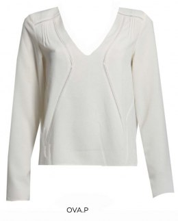Morgan Blouse OVA.P OFF WHITE