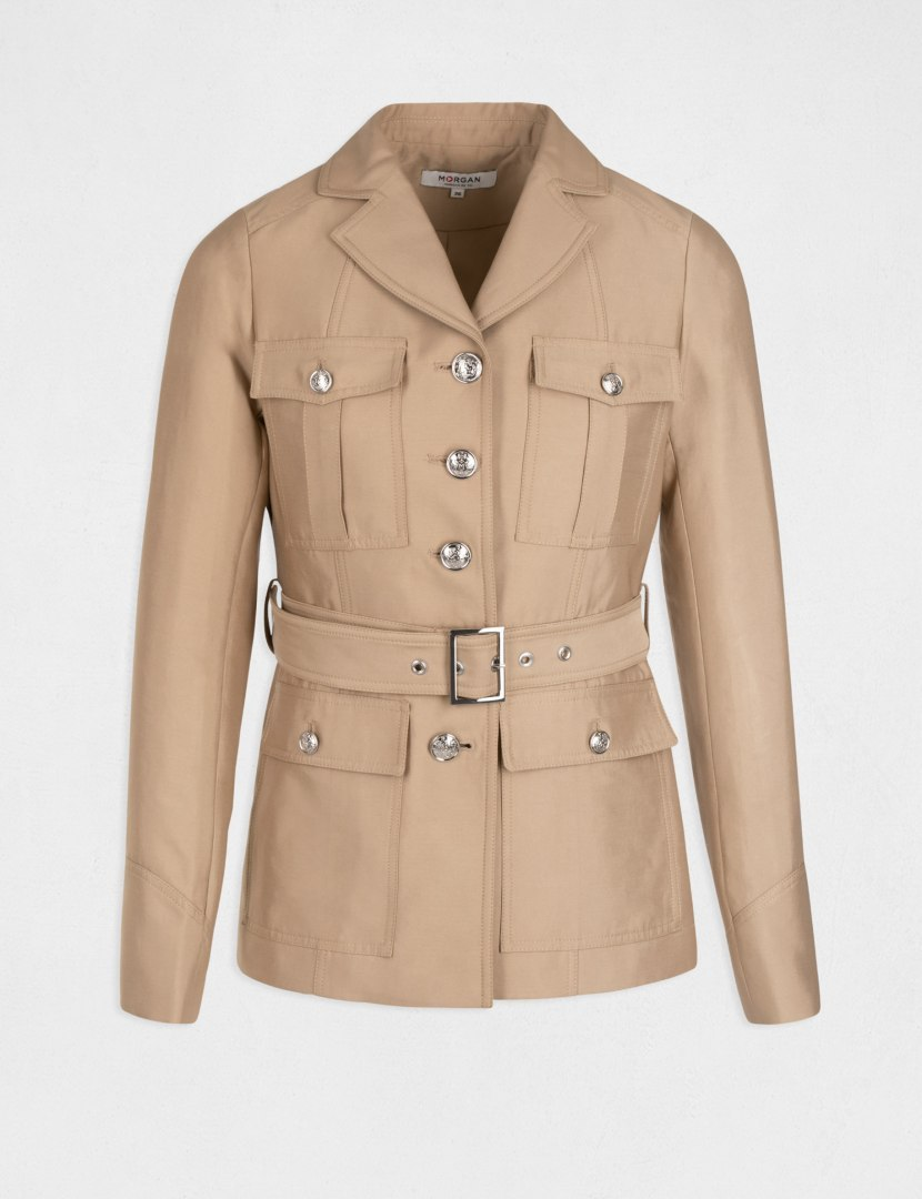 Morgan Coat GOLD.N CARAMEL