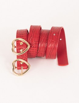 Morgan Belt 3VAL.N ROUGE