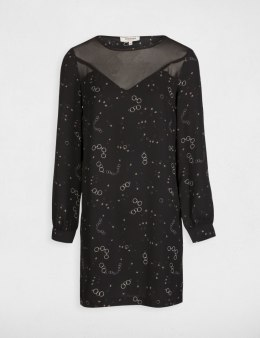 Morgan Dress ROLIN.F NOIR/ARGENT