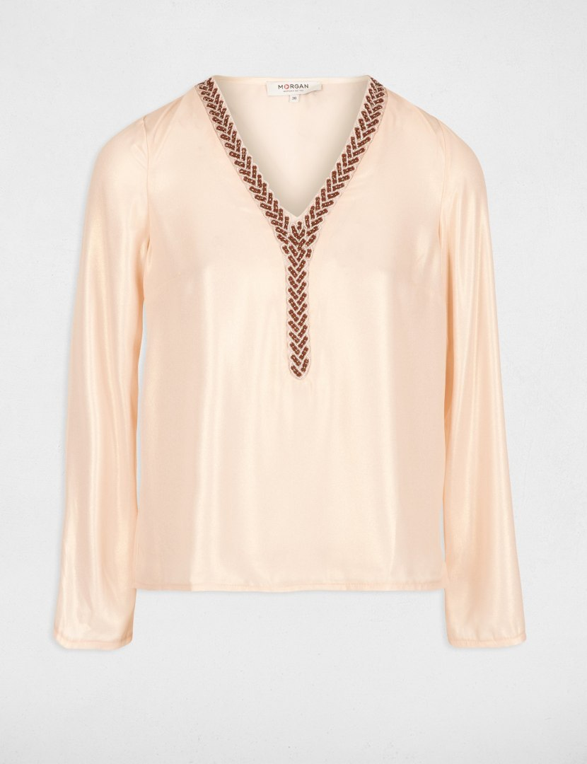 Morgan Blouse OLY.N ROSE PALE