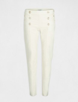 Morgan Pants PVELT.P OFF WHITE