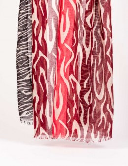Morgan Scarf 5ZEBRA.P ROUGE