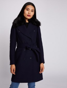 Morgan Coat GCHIC.N MARINE