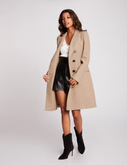 Morgan Coat GREY.N BEIGE