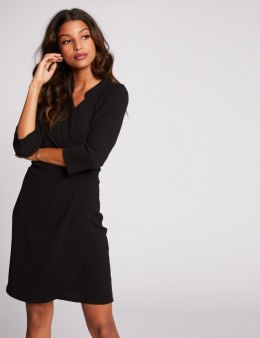 Morgan Dress RCROSI.W NOIR