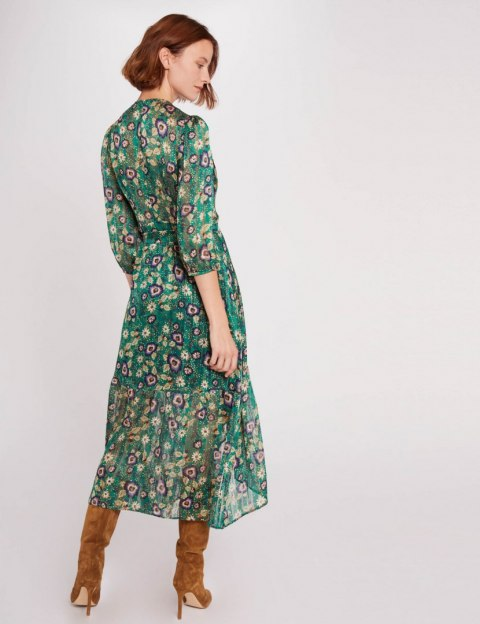 Morgan Dress RGREEN MENTHOL