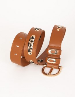 Morgan Belt 3FOULI CARAMEL