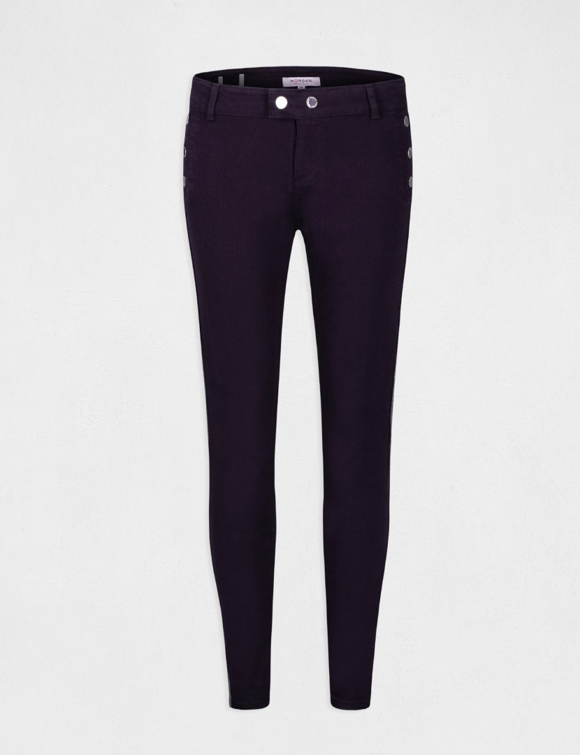 Morgan Pants PEPITA MARINE