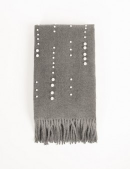 Morgan Scarf 5PEARLY GRIS ANTHRACIT
