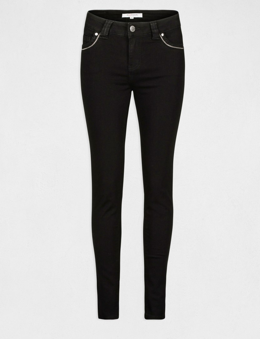 Morgan Pants PORTY NOIR