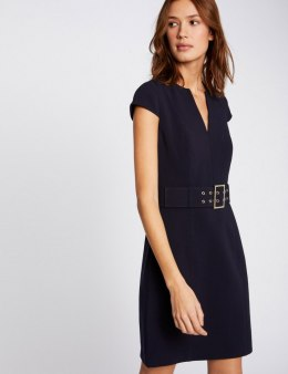 Morgan Dress REGLISSE MARINE